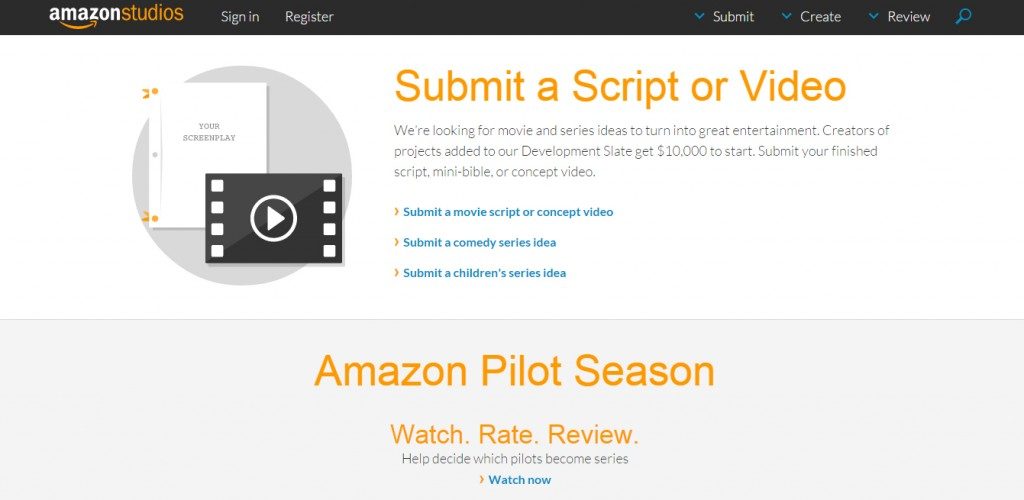 amazon submit script