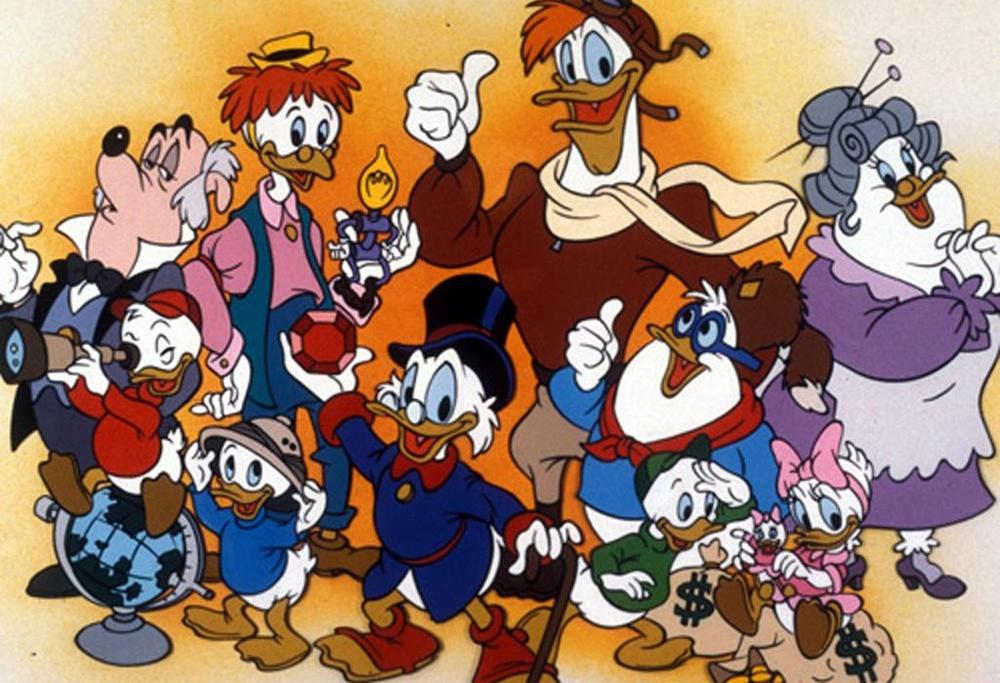 duck tales cast