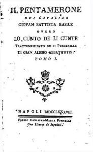 Pentamerone Giambattista Basile