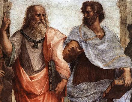 Platone e Aristotele Dialogo sulla felicità