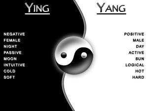 Ying e yang Yin e yang