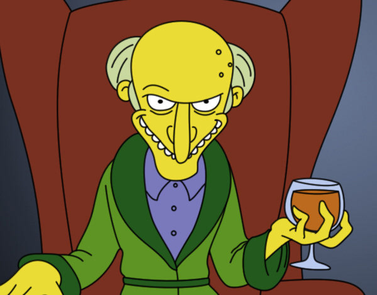 Simon Mr. Burns