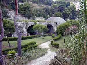 Parte del Parco Archeologico Di Baia