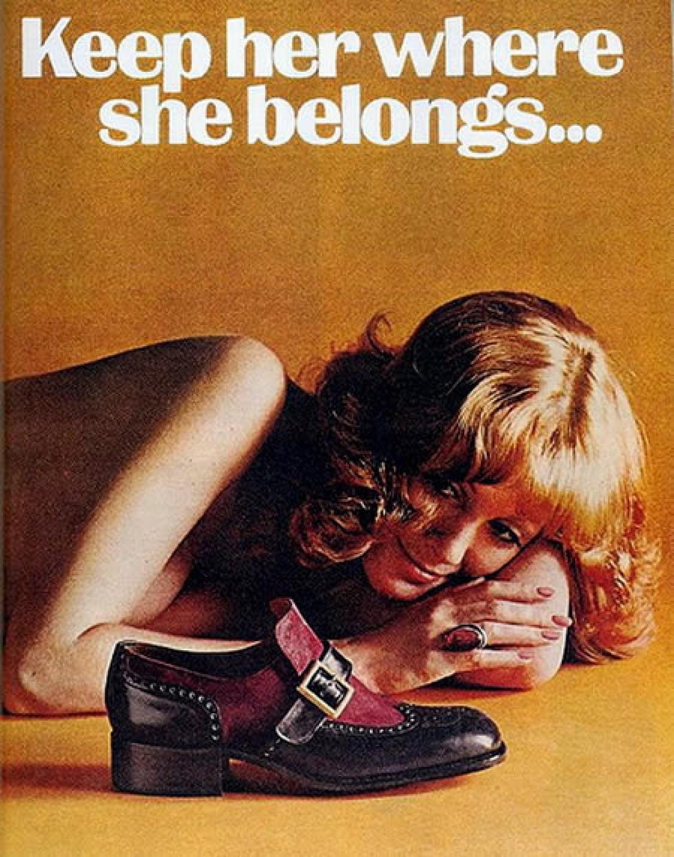 Donna pubblicità