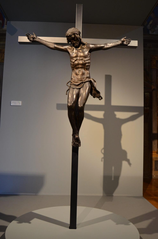 Donatello, Crocifisso, anni '400 del 1400, bronzo, Basilica di Sant'Antonio, Padova