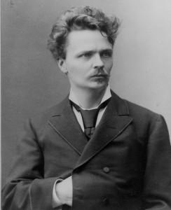 August Strindberg, foto di Robert Roesle