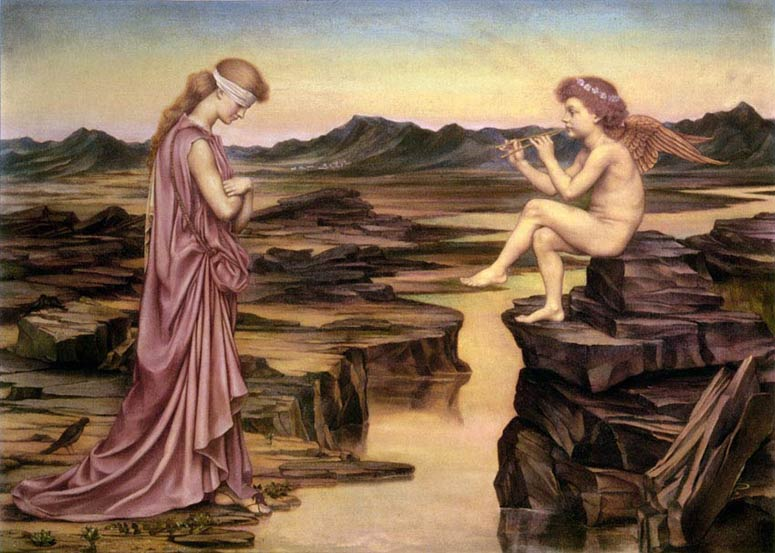 Love, the Misleader; Evelyn de Morgan
