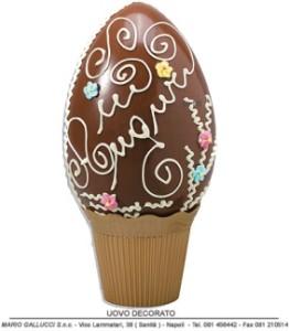 uova di cioccolato Pasqua Napoli Gallucci