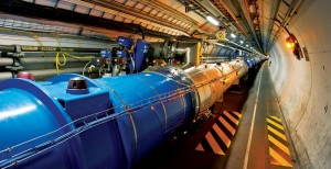 Una sezione dell'LHC