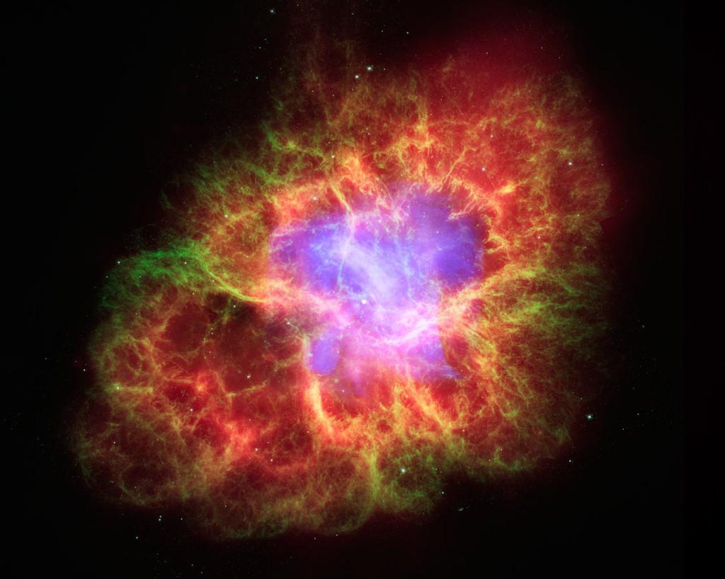 nebulosa del granchio, resto di supernova