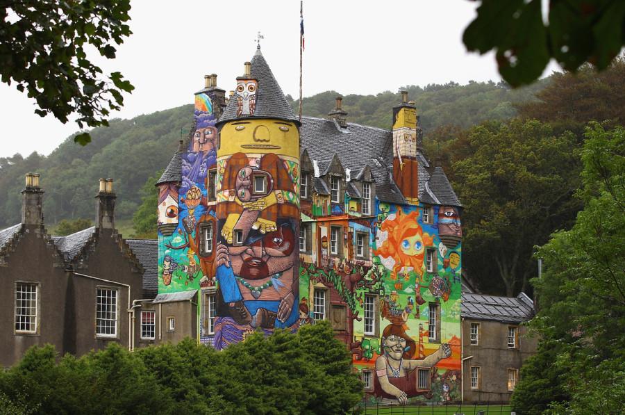 Os Gemeos Kelburn Castel