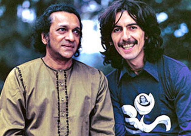 Ravi Shankar , George Harrison