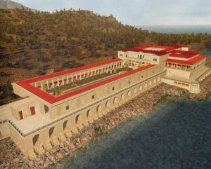 Copia della Villa dei Papiri a Malibù
