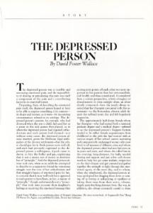 La persona depressa