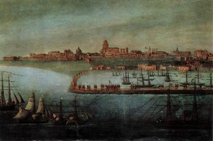 G. Titone - Sbarco dei Mille a Marsala