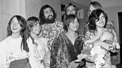 Alcuni membri della Manson Family