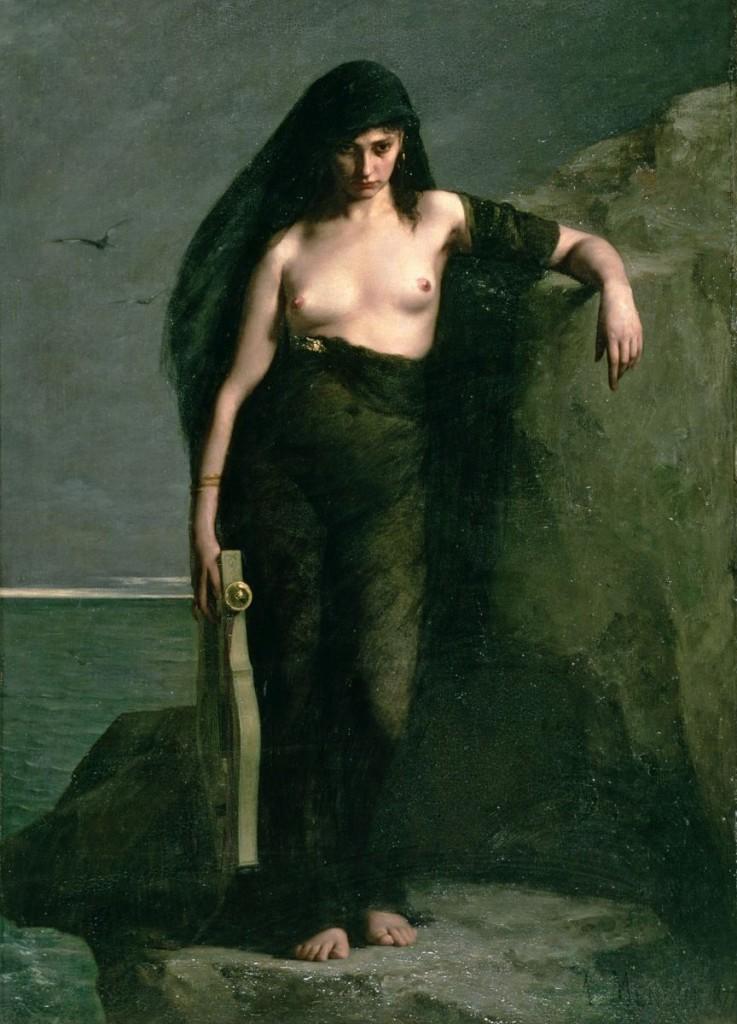 Eroidi, Ovidio Saffo Faone