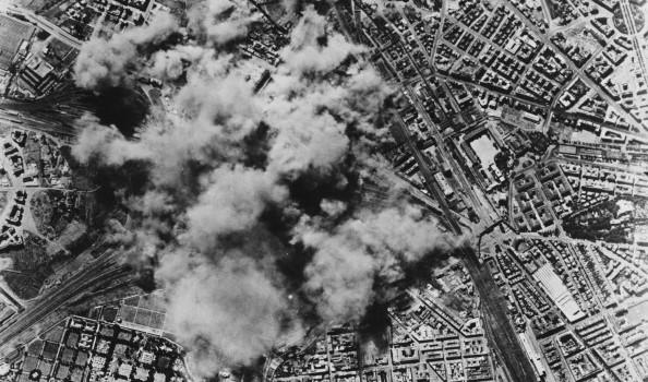 Bombardamento su Roma Seconda Guerra Mondiale