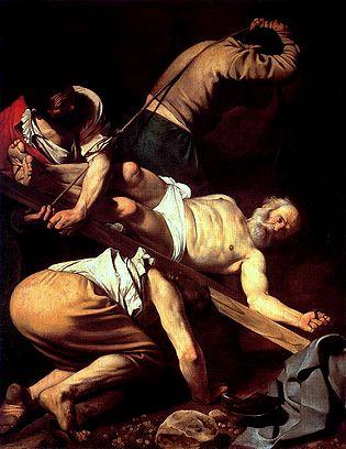 Caravaggio Martirio di San Pietro