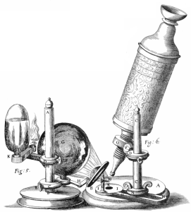 Gulliver Hooke microscopio