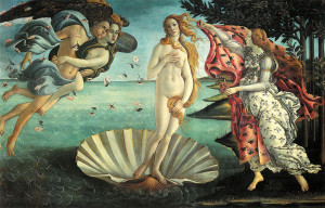La Primavera di Botticelli e la nascita di Venere