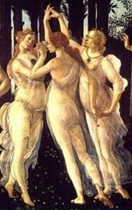 La Primavera di Botticelli Grazie