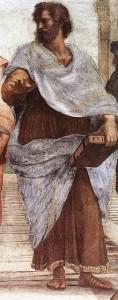 Aristotele Michelangelo Scuola di Atene