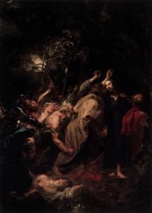 """Antoon Van Dyck, """"La cattura di Cristo"""""""