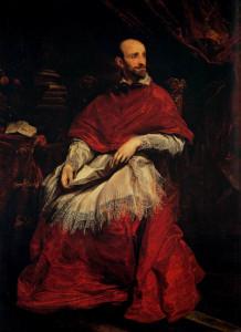 """Antoon Van Dyck, """"Ritratto del Cardinale Guido Bentivoglio"""""""