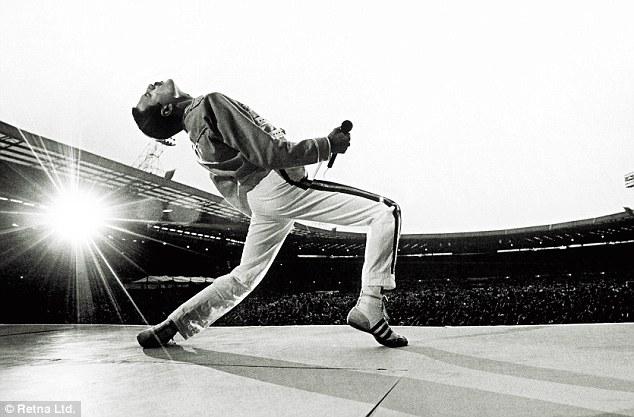 Freddie Mercury Queen concerto