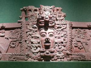 Antica maschera Maya zamà