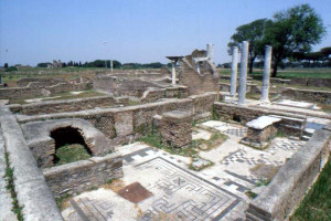 svastiche ad Ostia Antica