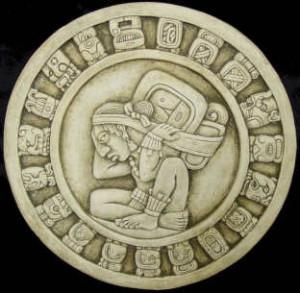 Simbolo calendario maya zamà