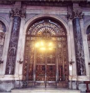 cappella del tesoro di San Gennaro ingresso