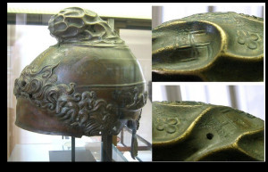 elmetto antico macedone di ercolano