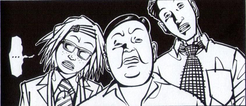 Lo sgangherato team dei tre detective formato dalla giovane Onoda, lo sgradevole sergente Yokoi e lo sbadato ufficiale Tamura