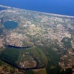 Zona dei Campi Flegrei (vista dall'alto) Fescina