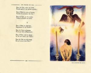 pagina di un'edizione tedesca (in francese) illustrata