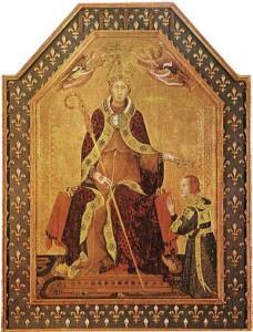 San Ludovico di Tolosa Simone Martini