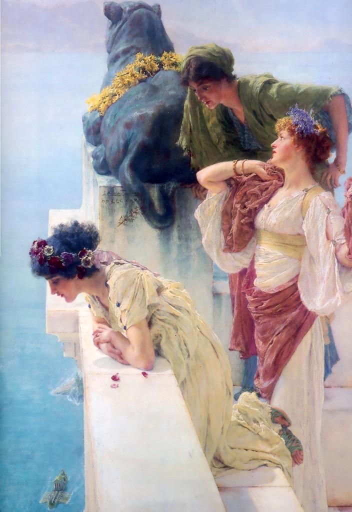 Sir Lawrence Alma Tadema; Una posizione vantaggiosa