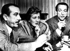 Eduardo De Filippo con fratelli