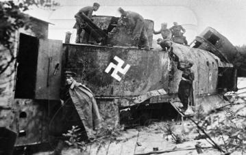 treno nazista