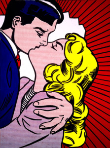 Roy Lichtenstein The Kiss