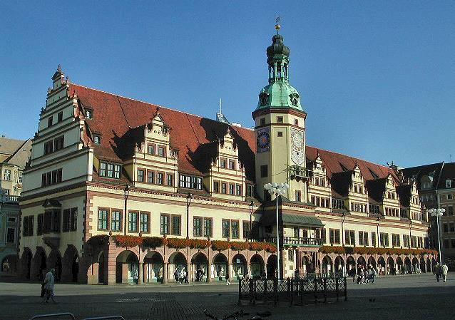 Vecchio municipio Lipsia