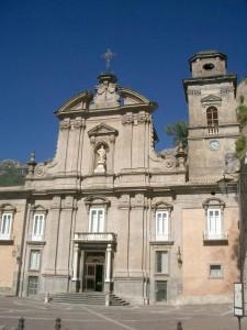 facciata chiesa XVIII secolo Cava de' tirreni