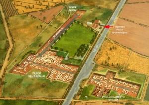 Ricostruzione plastica del sito archeologico di Sibari. (Sibari)