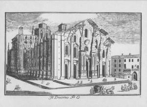 costruzione Duomo di milano