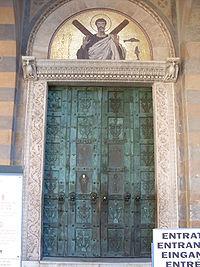 Portale Sant Andrea Duomo di Amalfi