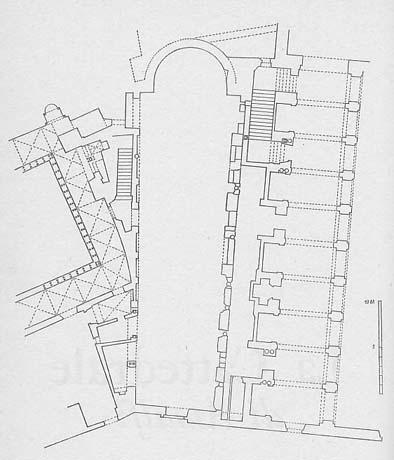 Duomo di Amalfi, pianta cattedrale