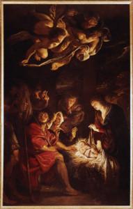 Pieter Paul Rubens, Adorazione dei Pastori, 1608, pinacoteca civica di Fermo